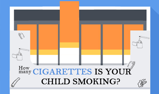 How many cigarettes is your child smoking?