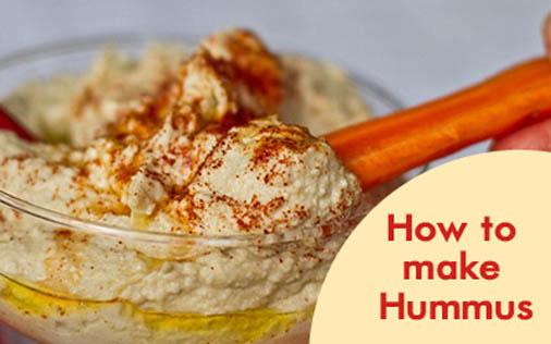 How to Make Hummus: Recipe