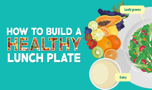 How to build a healthy lunch plate