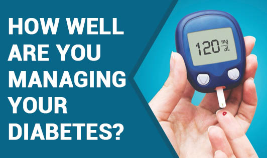 How well are you managing your diabetes?