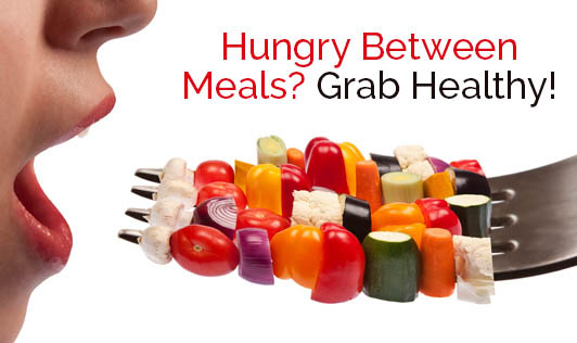 Hungry Between Meals? Grab Healthy!
