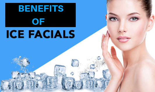 Five Benefits Of Ice Facials