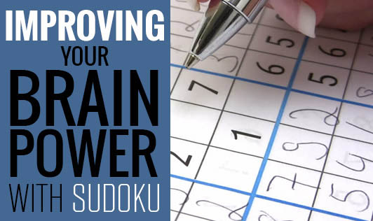 Improving your brain power with Sudoku