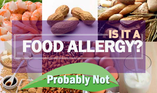 Is It a Food Allergy? Probably Not
