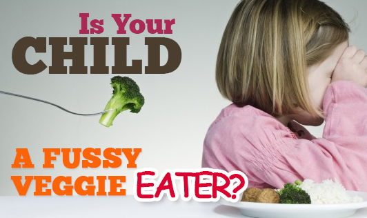 Is your child a fussy veggie eater?