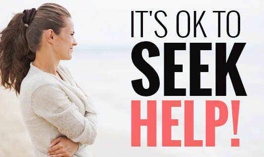 It's ok to seek help!