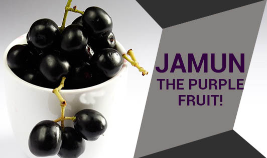 Jamun - The Purple Fruit!