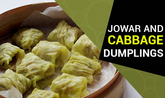 Jowar and Cabbage Dumplings