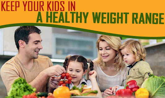 Keep Your Kids in a Healthy weight Range