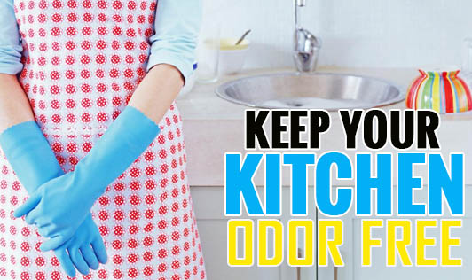 Keep Your Kitchen Odor Free