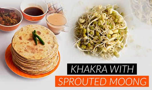 Khakra with Sprouted Moong