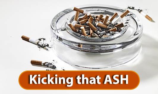Kicking that ASH