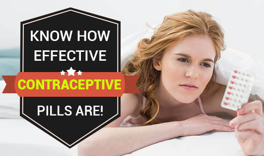 Know How Effective Contraceptive Pills Are!