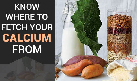 Know Where to Fetch Your Calcium From