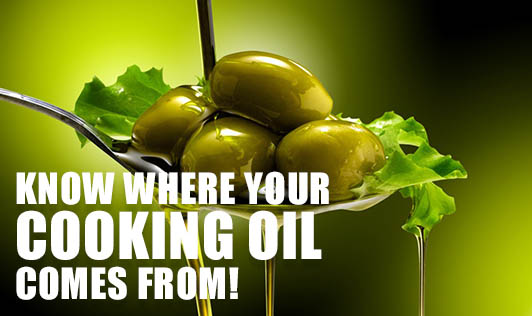 Know Where your Cooking Oil Comes From!