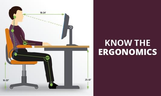Know the Ergonomics
