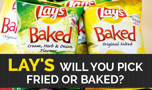 Lay's -- Will You Pick Fried Or Baked?
