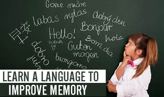 Learn A Language To Improve Memory