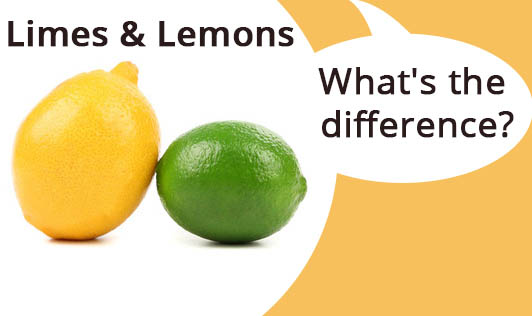 Limes and lemons - what's the difference?