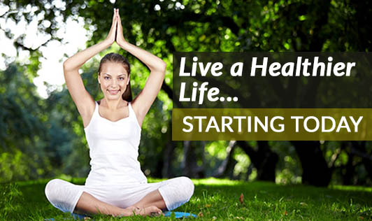 Live a Healthier Life....Starting Today