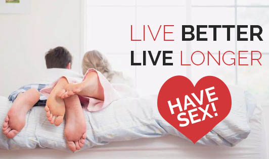 Live Better, Live Longer-Have Sex!