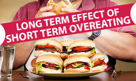Long Term Effect of Short Term Overeating