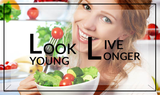 Look Young,Live Longer