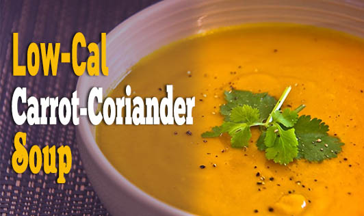 Low-Cal Carrot-Coriander Soup