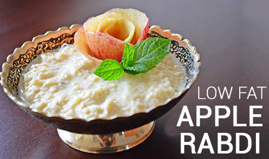 Low Fat Apple Rabdi