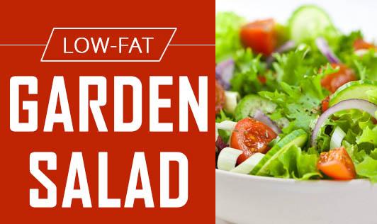 Low-Fat Garden salad
