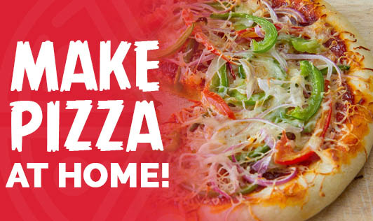 Make Pizza At Home!
