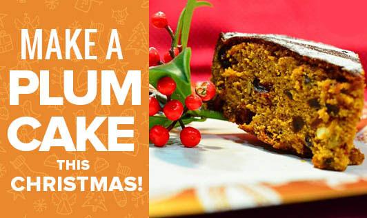 Make a Plum Cake this Christmas!