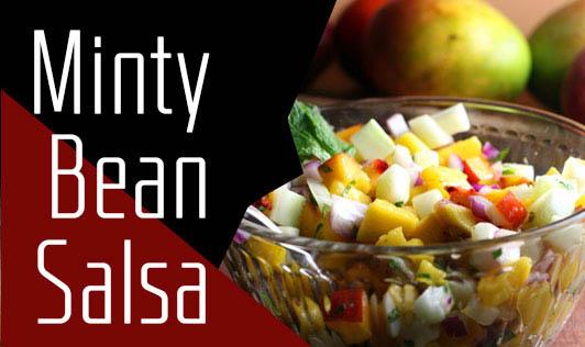 Minty Bean Salsa