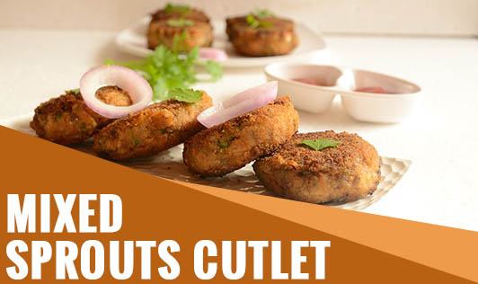 Mixed sprouts cutlet