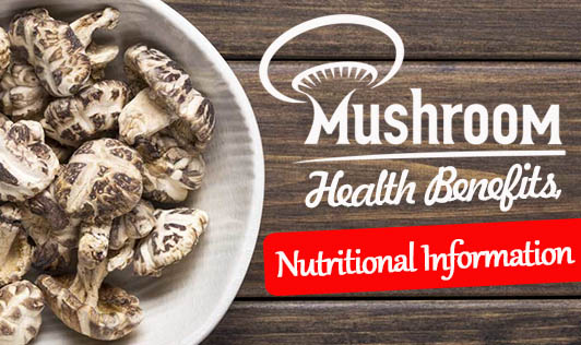 Mushroom: Health Benefits, Nutritional Information