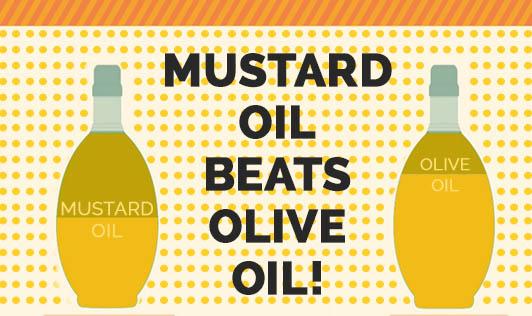 Mustard Oil Beats Olive Oil!