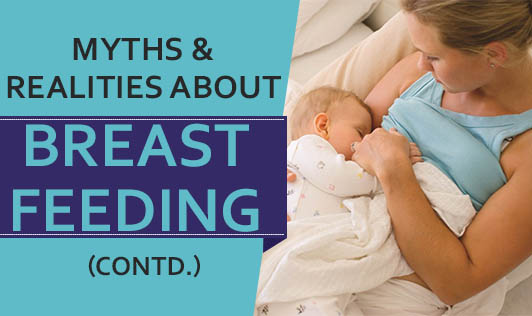 Myths & Realities about Breastfeeding (contd.)