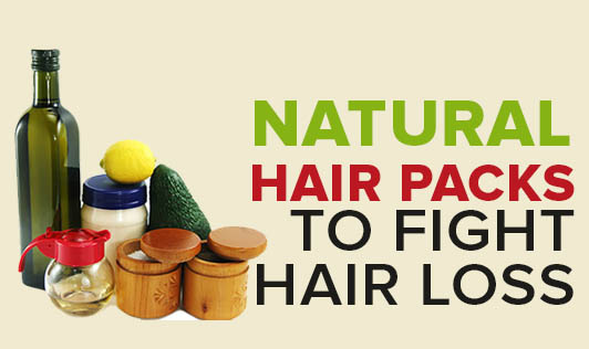 Natural Hair Packs To Fight Hair Loss