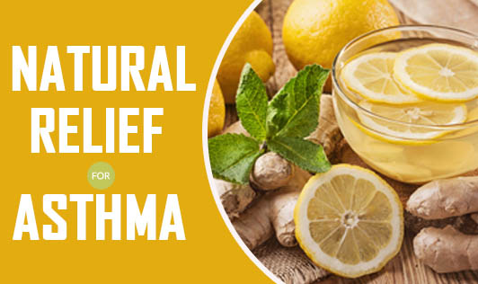 Natural relief for asthma