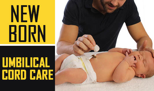 New born: Umbilical cord care