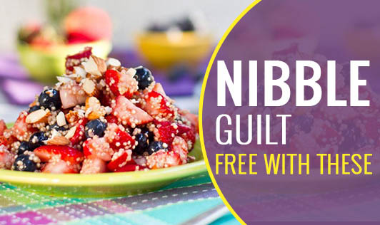 Nibble Guilt-Free With These