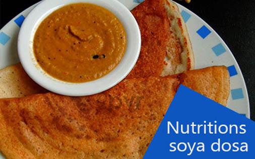 Nutritious Soya Dosa Recipe