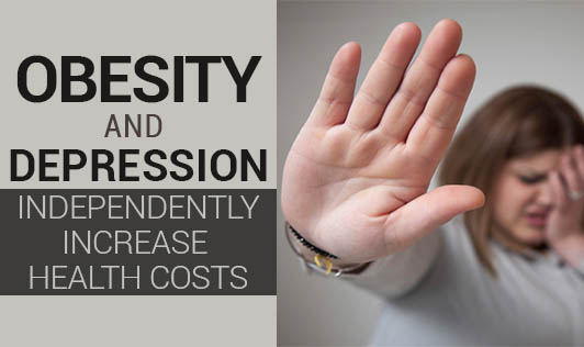 Obesity and Depression Independently Increase Health Costs