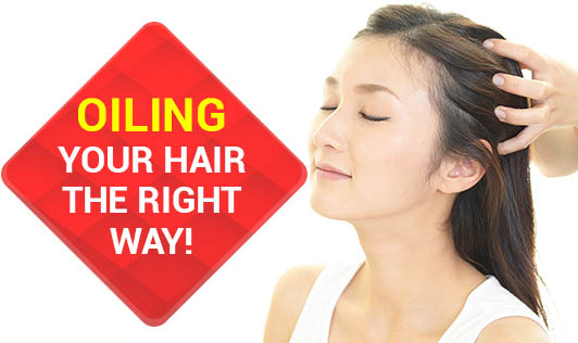 Oiling Your Hair the Right Way!