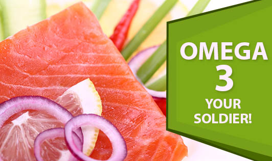 Omega 3 - Your Soldier!
