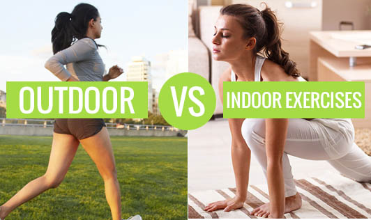 Outdoor vs. Indoor Exercises