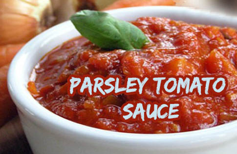 Parsley Tomato Sauce Recipe
