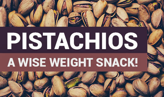 Pistachios- A Wise Weight Snack!