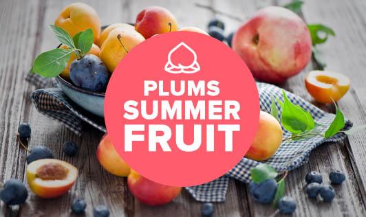 Plums- Summer fruit