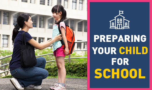 Preparing your child for school